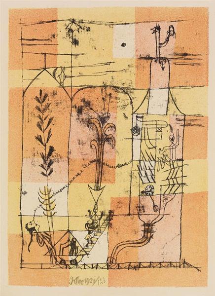 Paul Klee Hoffmannesque Scene, 1940.jpeg