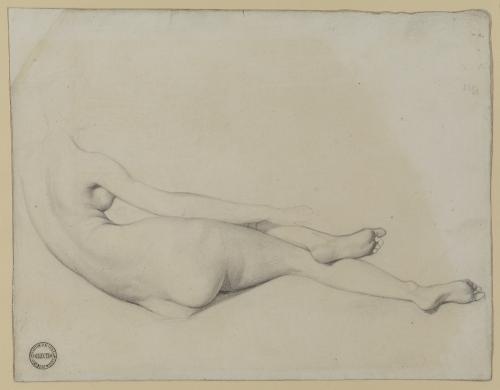 Jean-Auguste-Dominique Ingres, Study for Grande Odalisque, 1814.jpg