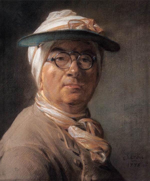 Jean-Baptiste Simeon Chardin, Self Portrait, Louvre.jpg
