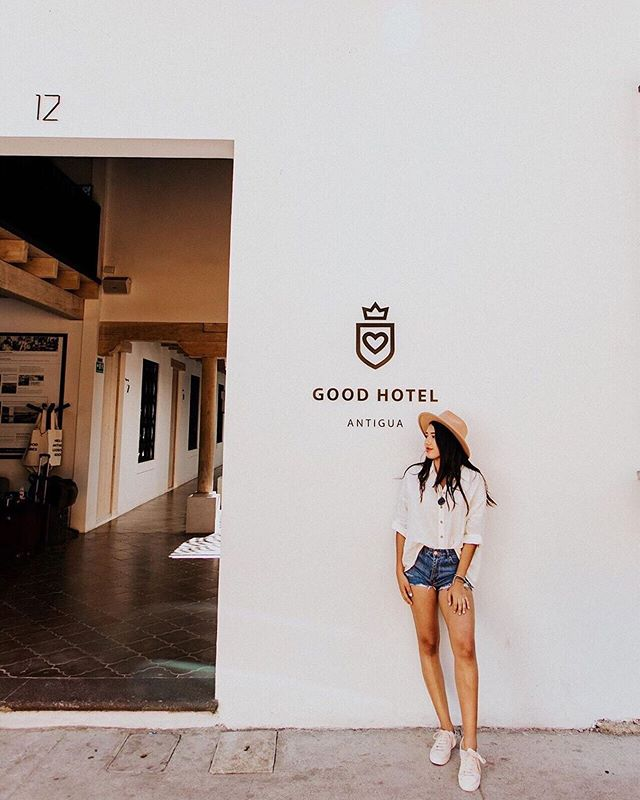 @ferlacayo, one of the influencers who recently stayed at Good Hotel Antigua and visited the schools we've built. She was part of a bigger group who all wanted to use their platforms for good. ⠀⠀⠀⠀⠀⠀⠀ Not everyone are influencers, but everyone can help somehow. No deed is too small! #SleepGoodDoGood