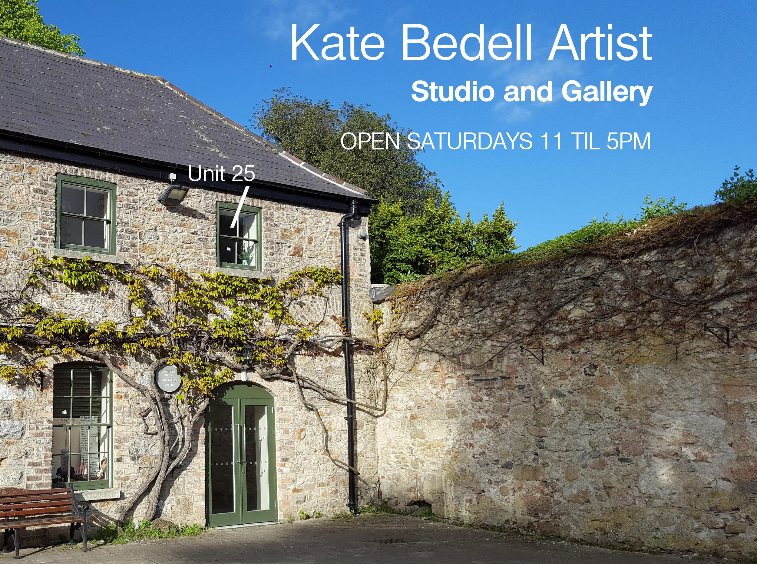Kate Bedell Artist, Unit 25, Marlay Craft Courtyard at Marlay Park