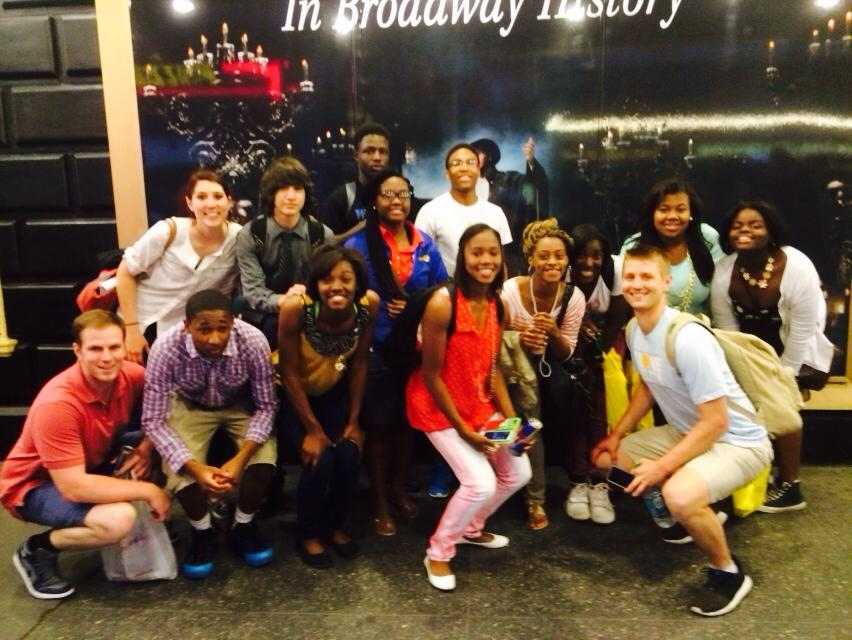 11 students toured colleges in NYC in the summer of 2014. They even got to see The Phantom of the Opera on Broadway!
