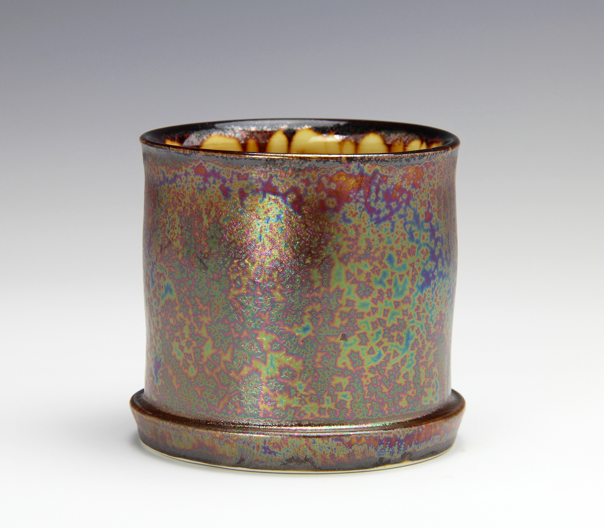 Purple Haze whiskey cup made by Bruce Gholson