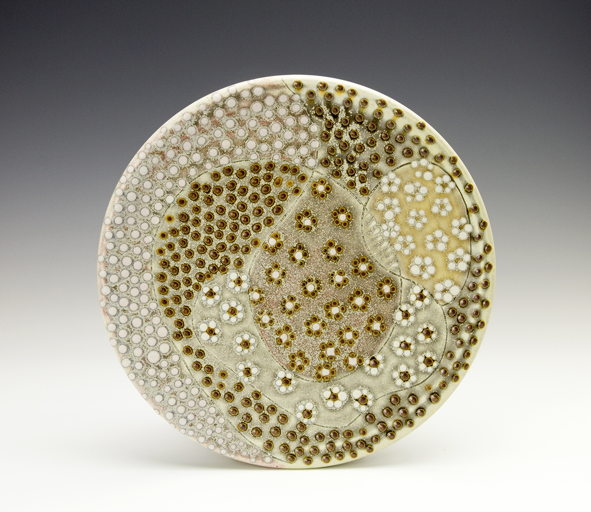 Dotted Plate by Samantha Henneke