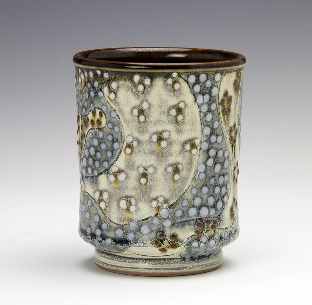Patterned Cup by Samantha Henneke
