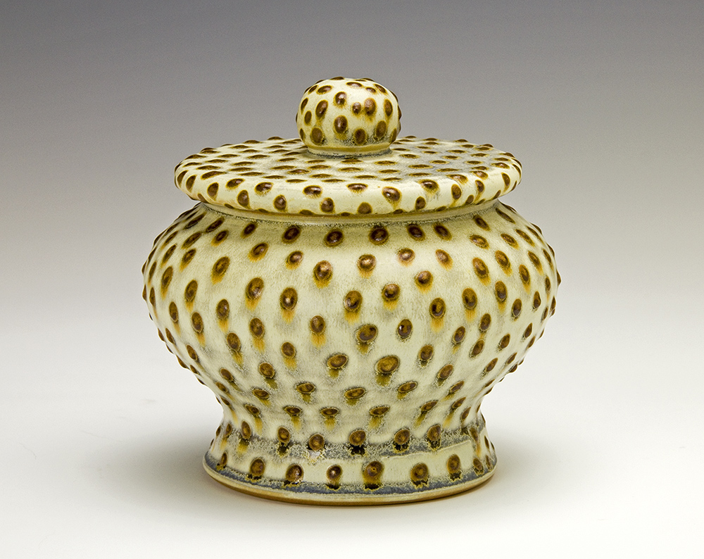 Samantha Henneke - Dotted Covered Jar