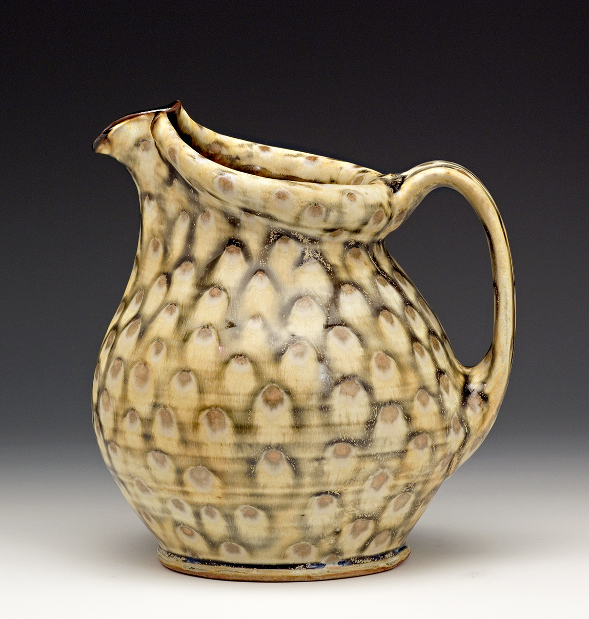 Pitcher made by Bruce Gholson