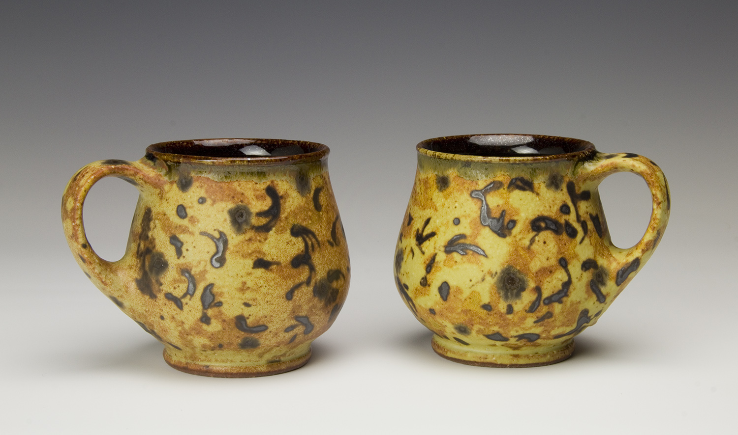 Mugs made by Bruce Gholson