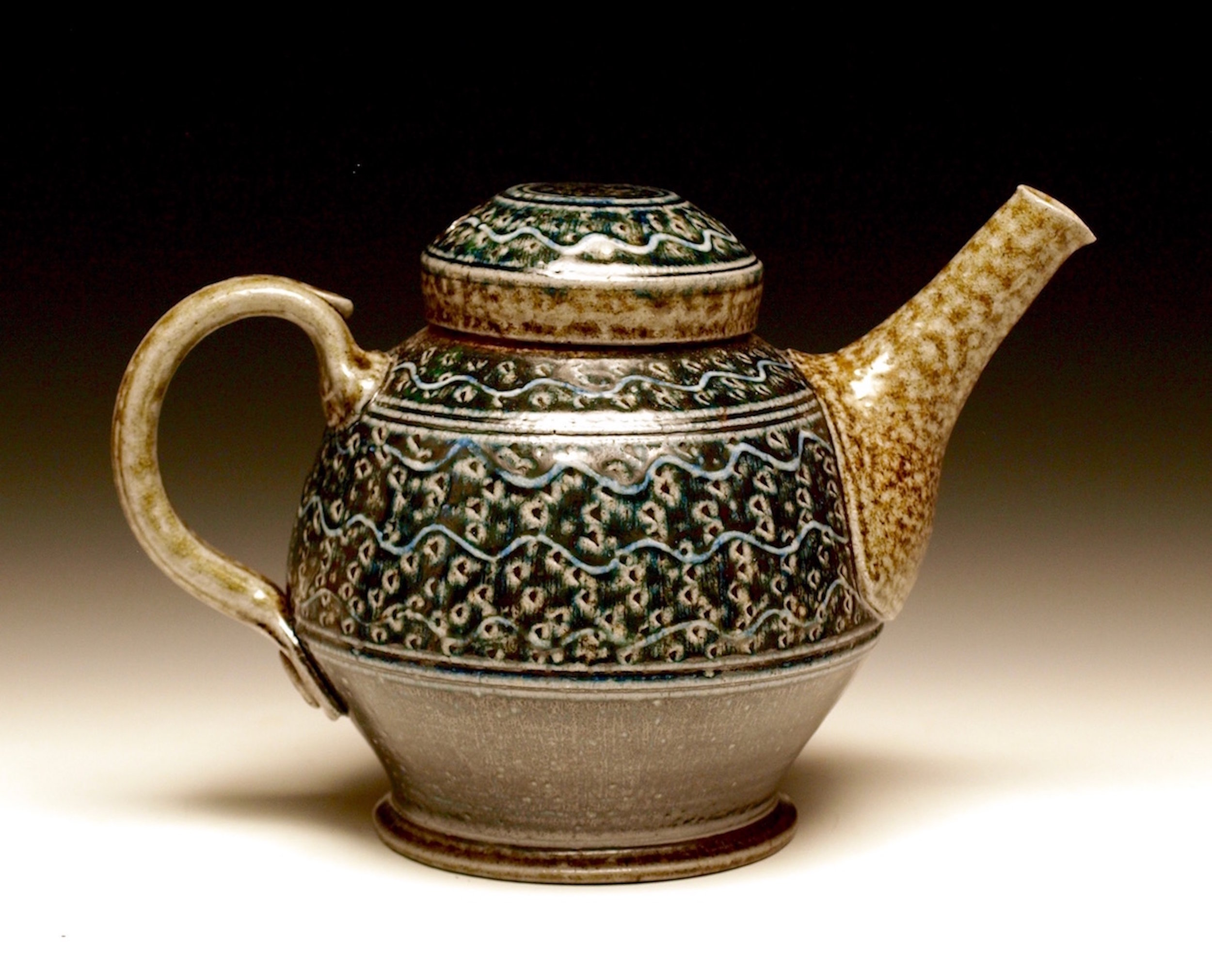 Black 'n Blue Teapot  .jpg