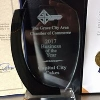 "Capital City Cakes earns Business of the Year award. - We are so humbled by this honor! We are so delighted to be a part of the Grove City Community. Thank you to all who voted for us!!""One of the highest honors bestowed by the Grove City Chamber of Commerce is the Business of the Year award. The award is won by popular vote. "" Grove City Living, March 11, 2018"