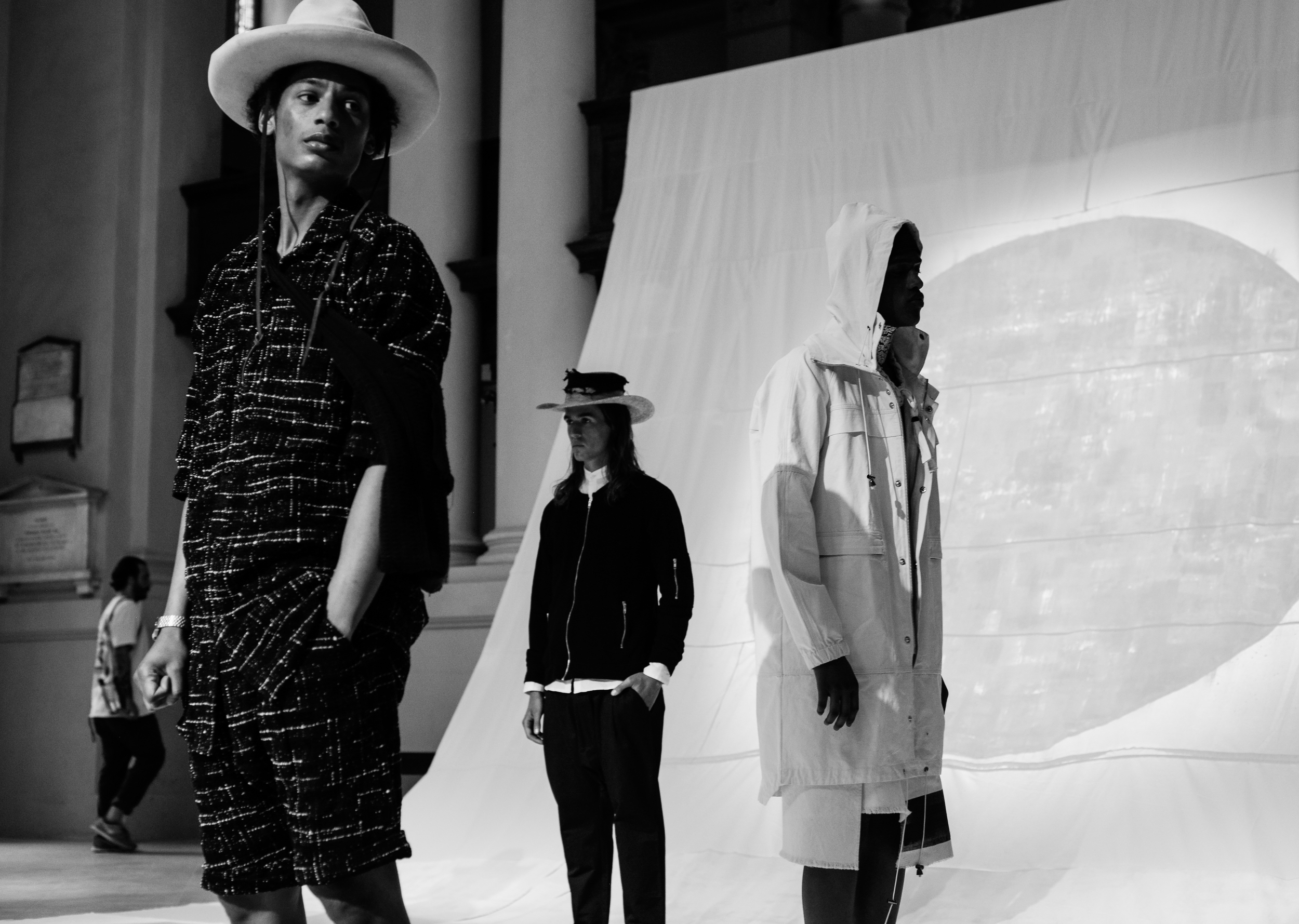 Tourne de Transmission's SS16 Collection, We The Ignorant Youth. Styled by Barry Kamen