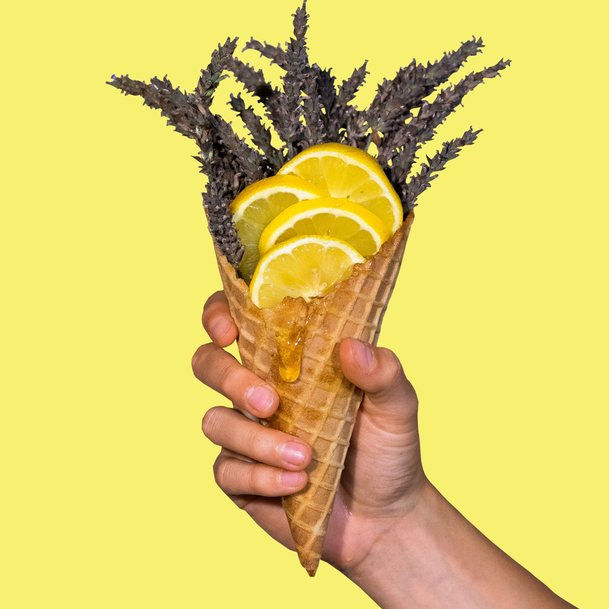 Honey Lavender Lemonade