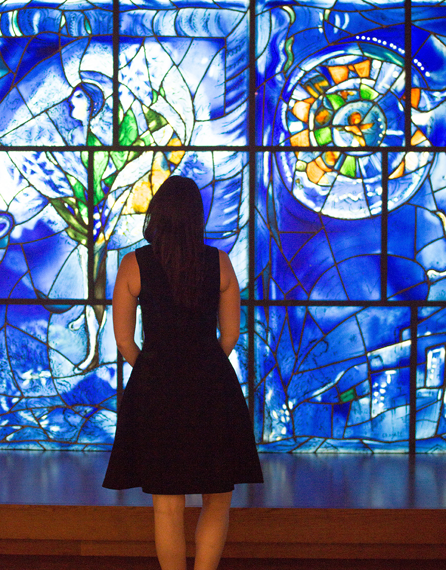 Chicago Art Institute Chagal Windows @rebeccaplotnick