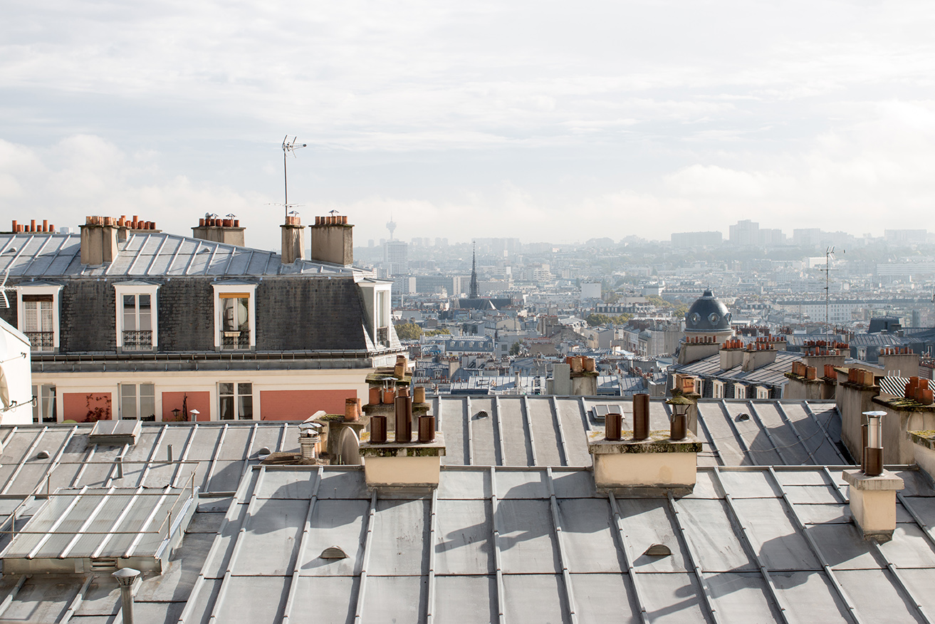 Montmartre Paris, France @rebeccaplotnick