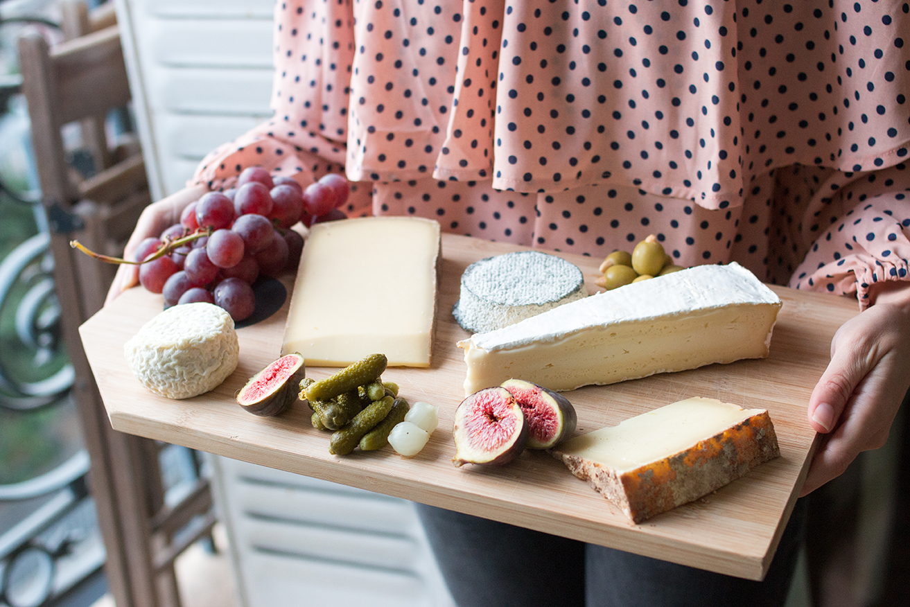 Cheese Plate Haven in Paris
