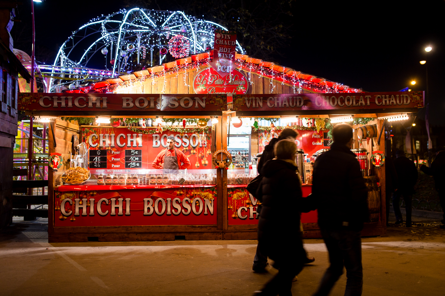 christmas markets paris