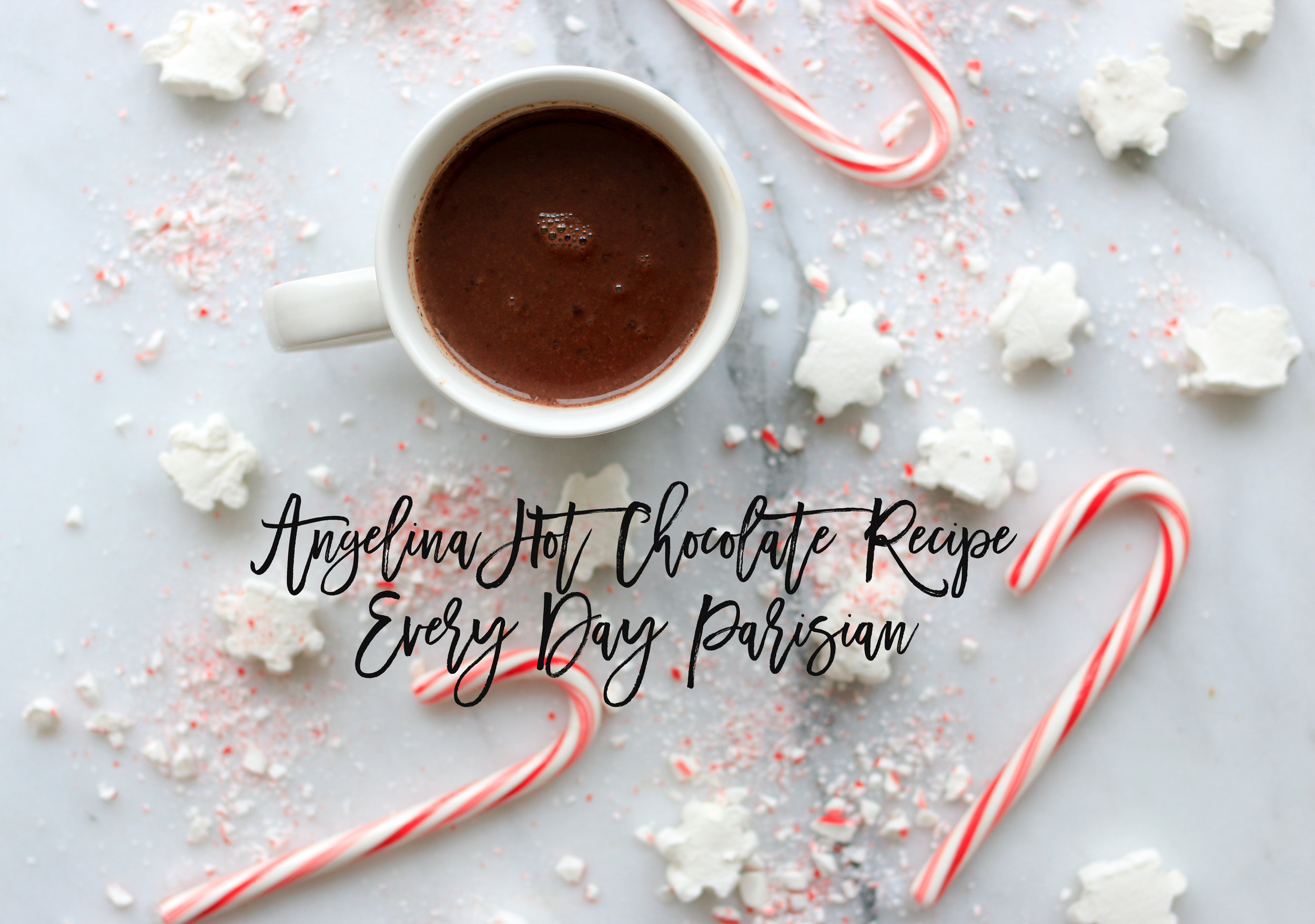 angelina hot chocolate recipe @rebeccaplotnick