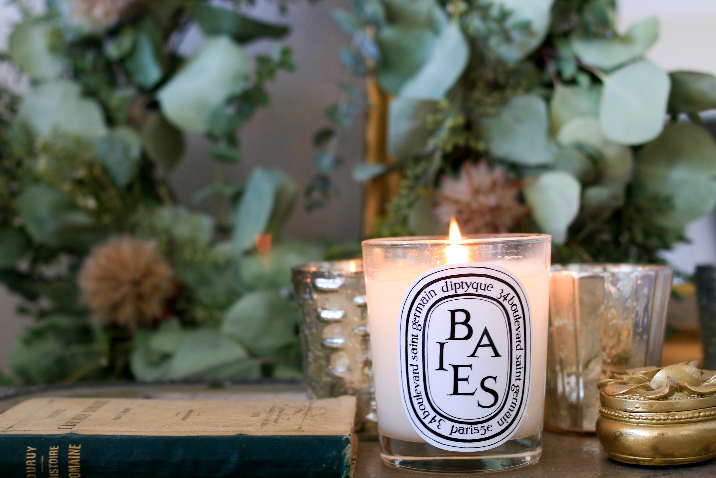 diptyque candle @rebeccaplotnick