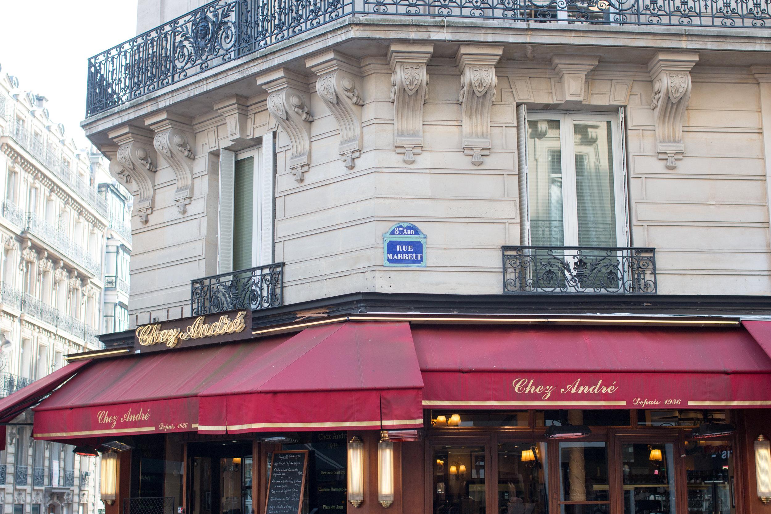 Chez Andre Paris, France