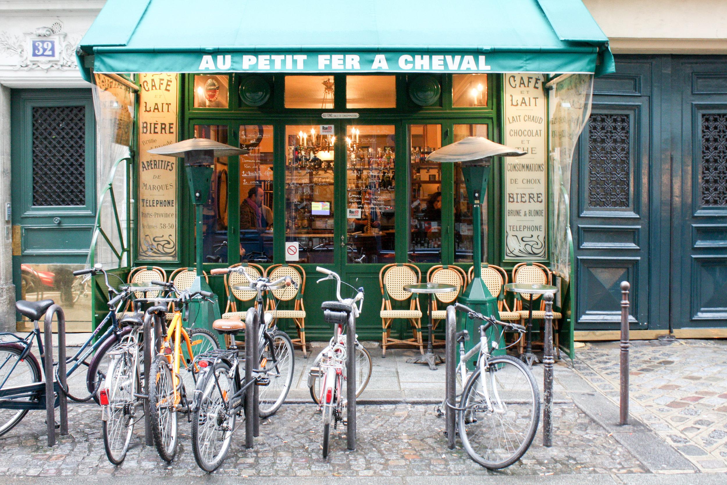 paris cafe @rebeccaplotnick