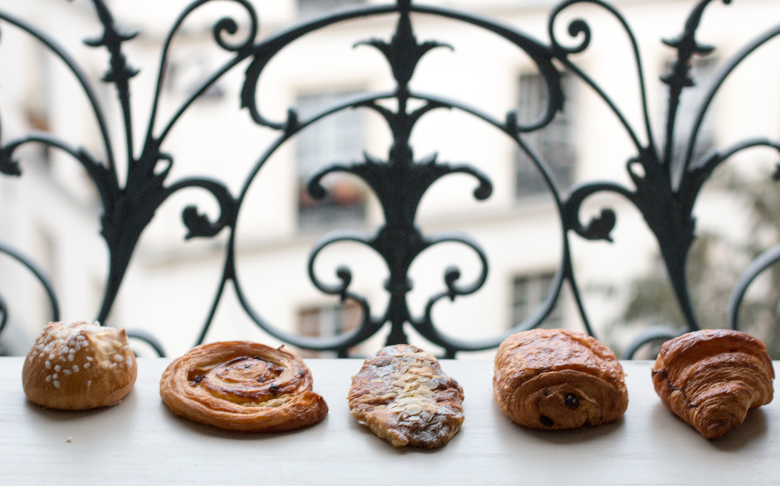 French Pastry in Paris Haven in Paris Apartment