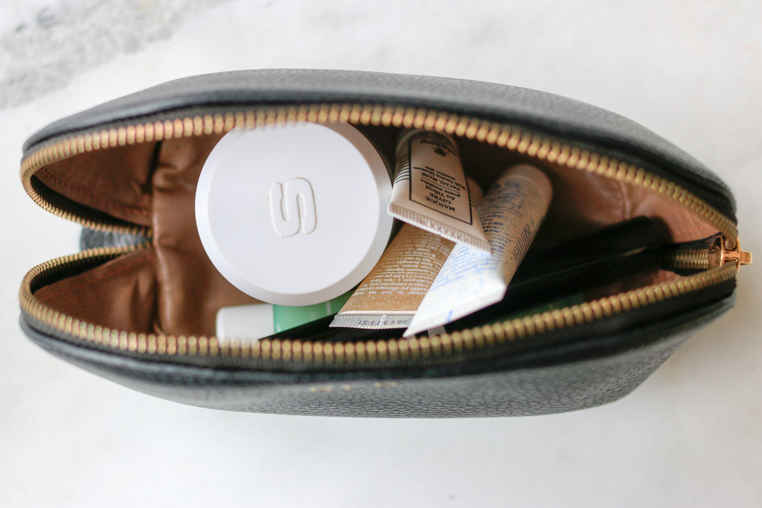 Cuyana Leather Travel Bag
