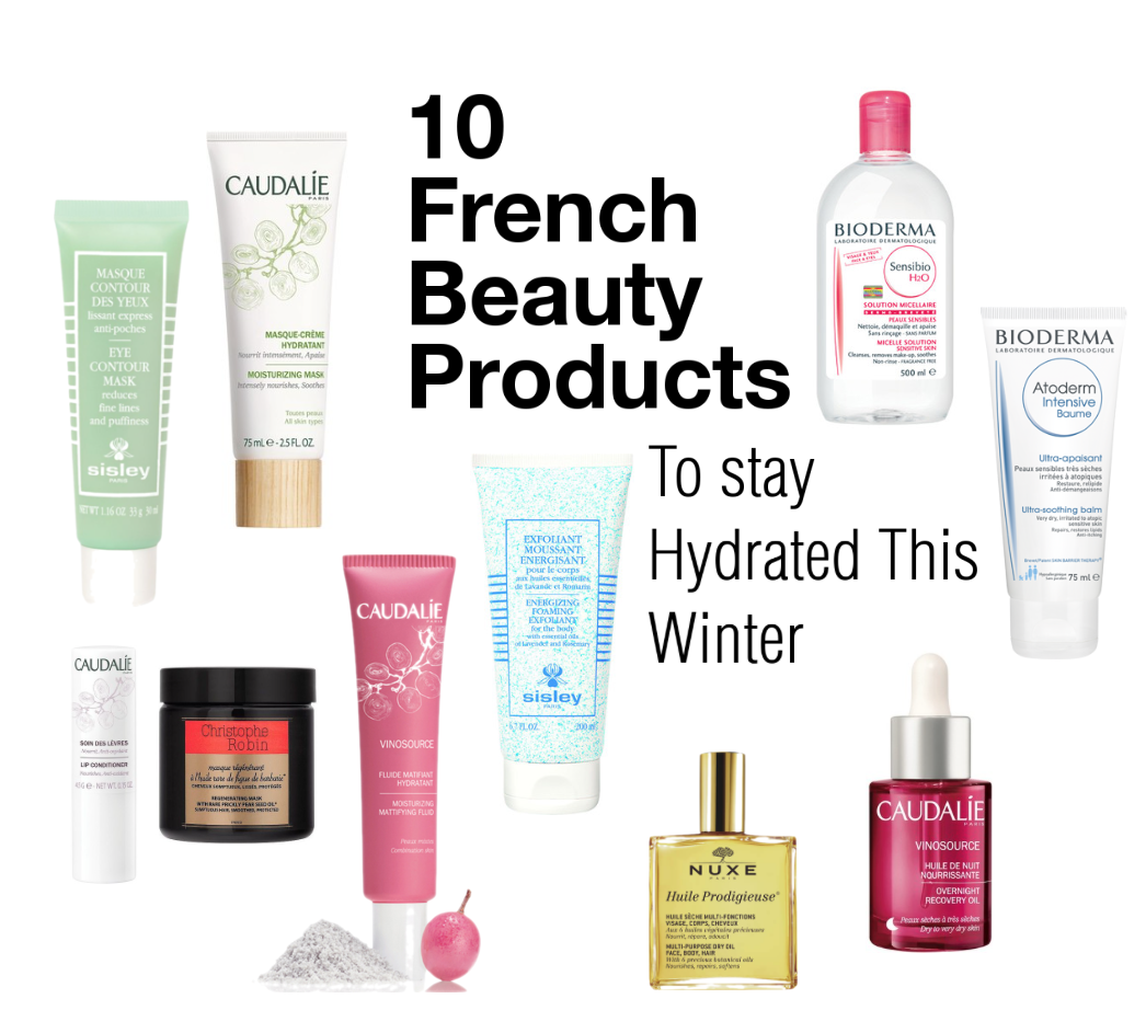 french beauty products to stay hydrated