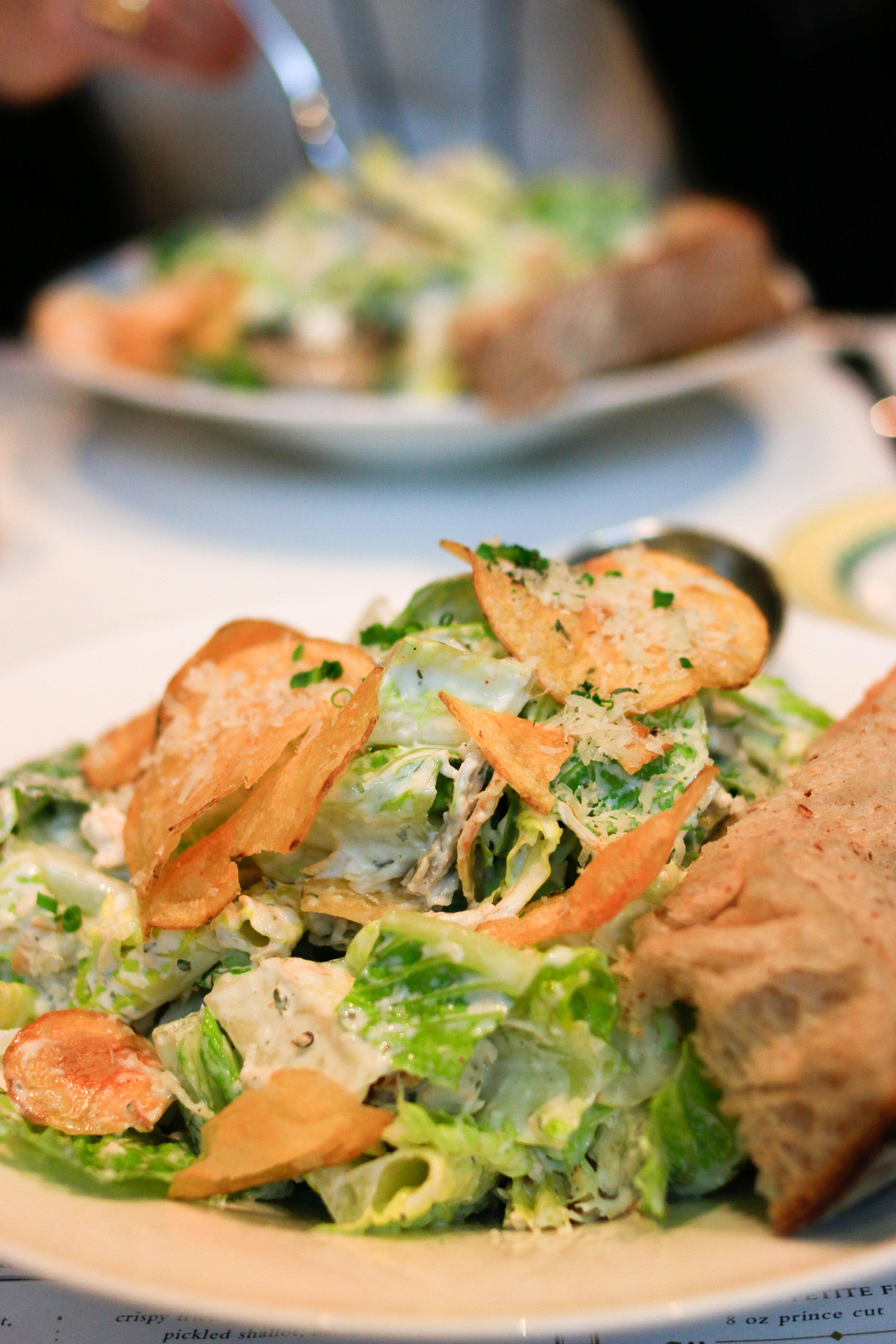 caesar salad from cochon volant