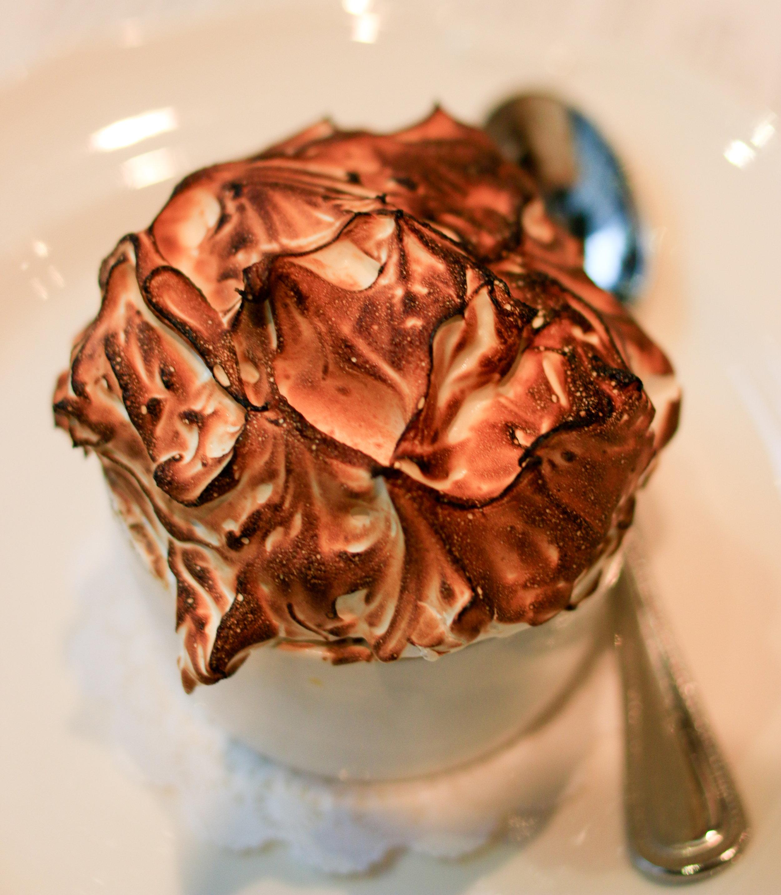 chocolate mousse cochant volant
