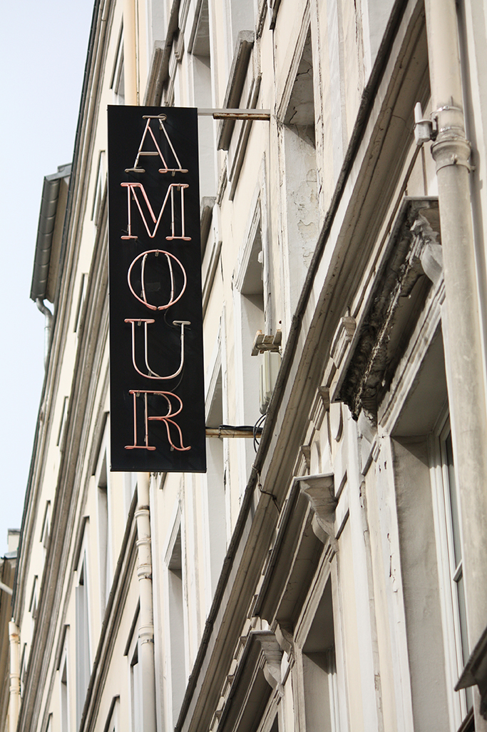 Amour in Montmartre