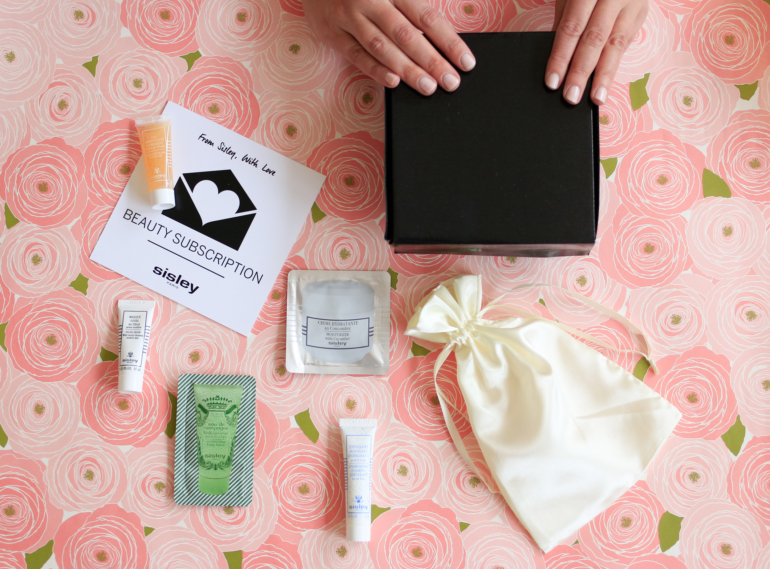 sisley beauty box subscription @rebeccaplotnick