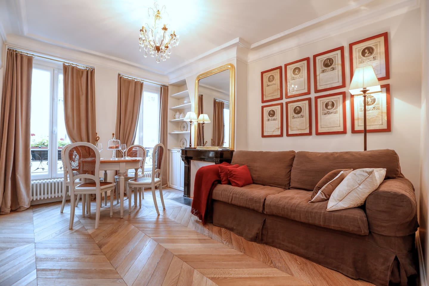 lovely french style apartment in montmartre