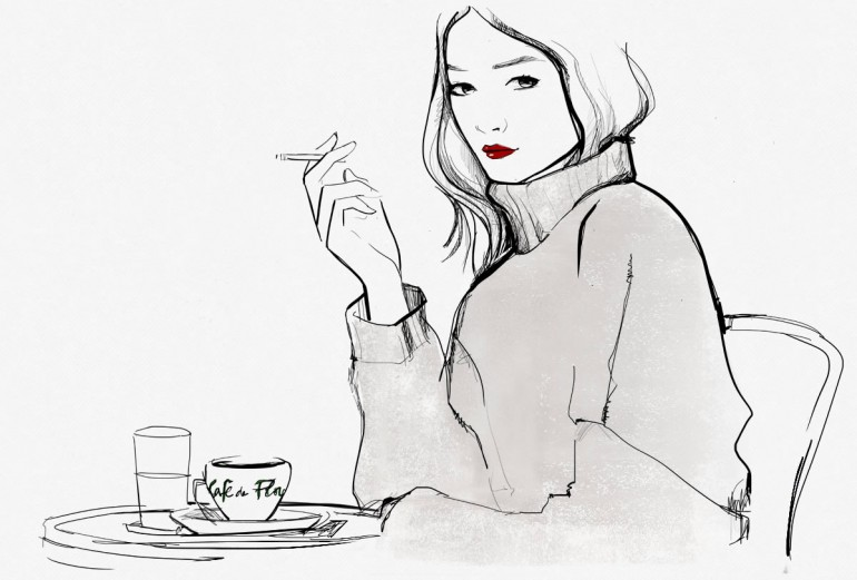 how to trick people into you are french via garance doré