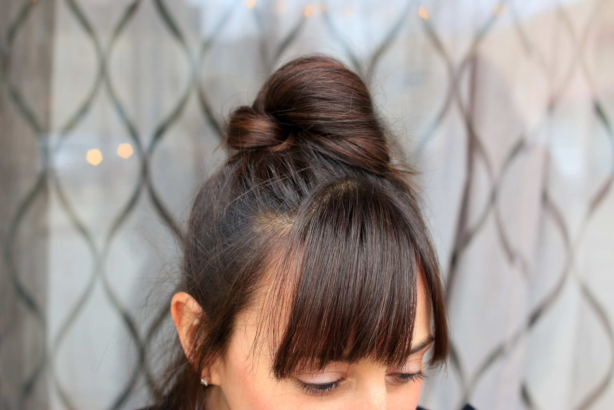 how to style your bangs
