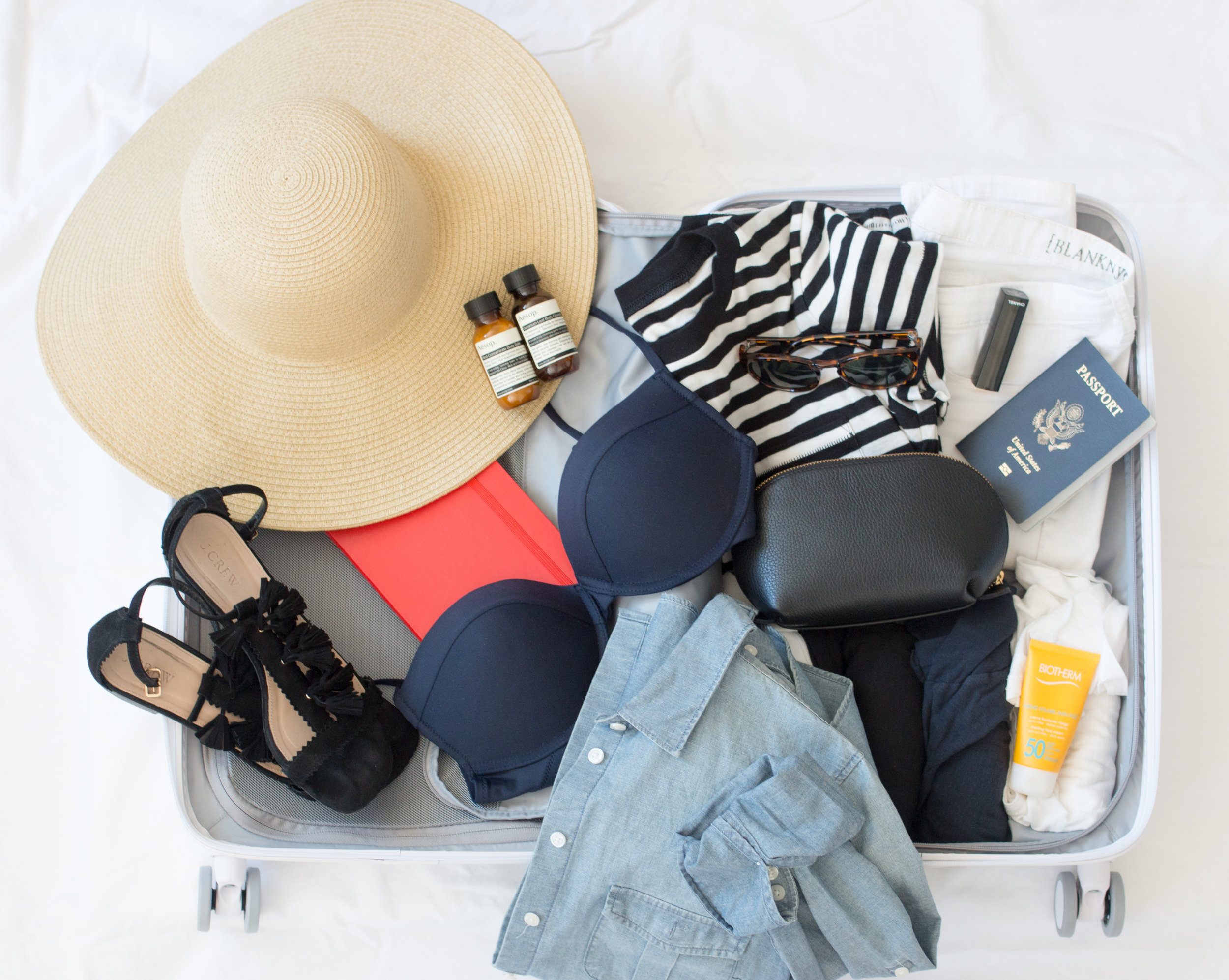 packing for Cuba via Every Day Parisian