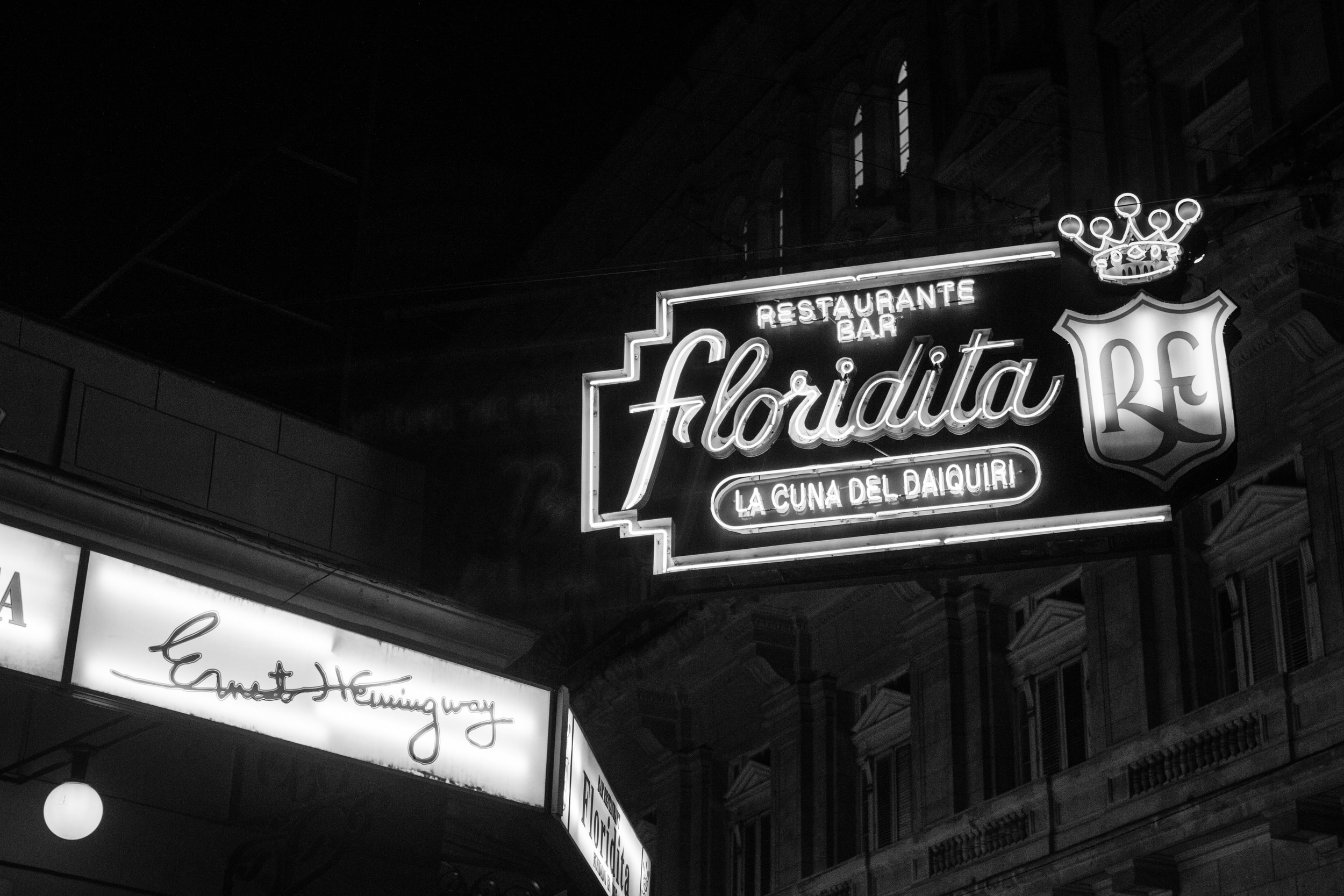 il floridita hemingways bar in havana cuba