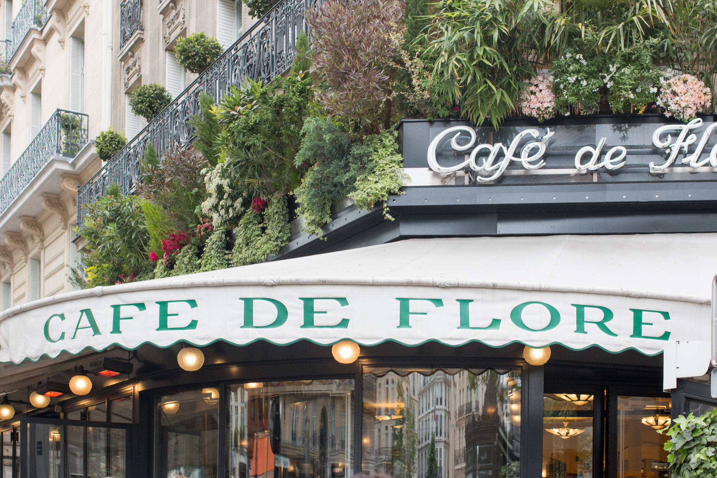 cafe de flore paris classic cafe @rebeccaplotnick