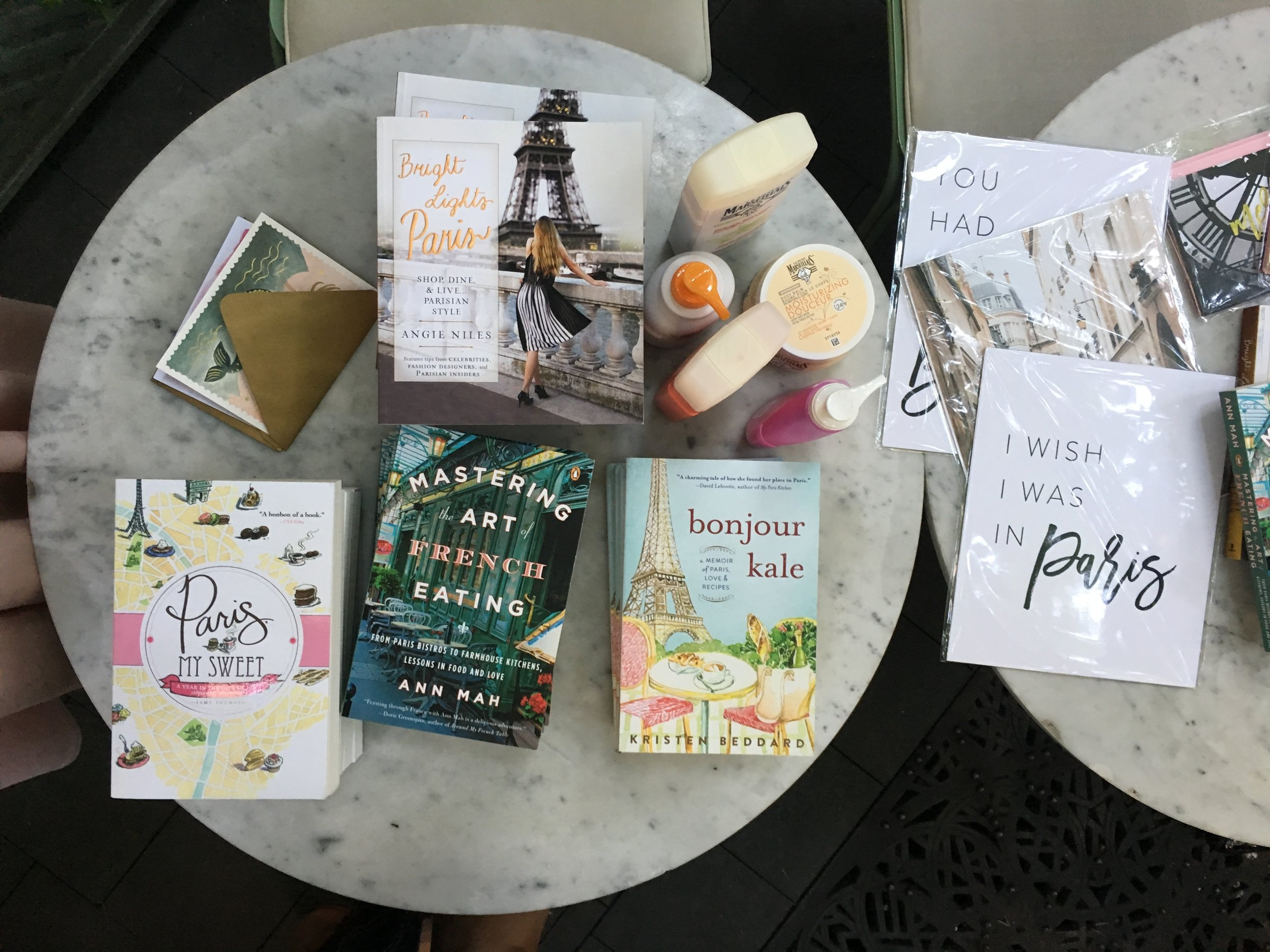 francophile book club books