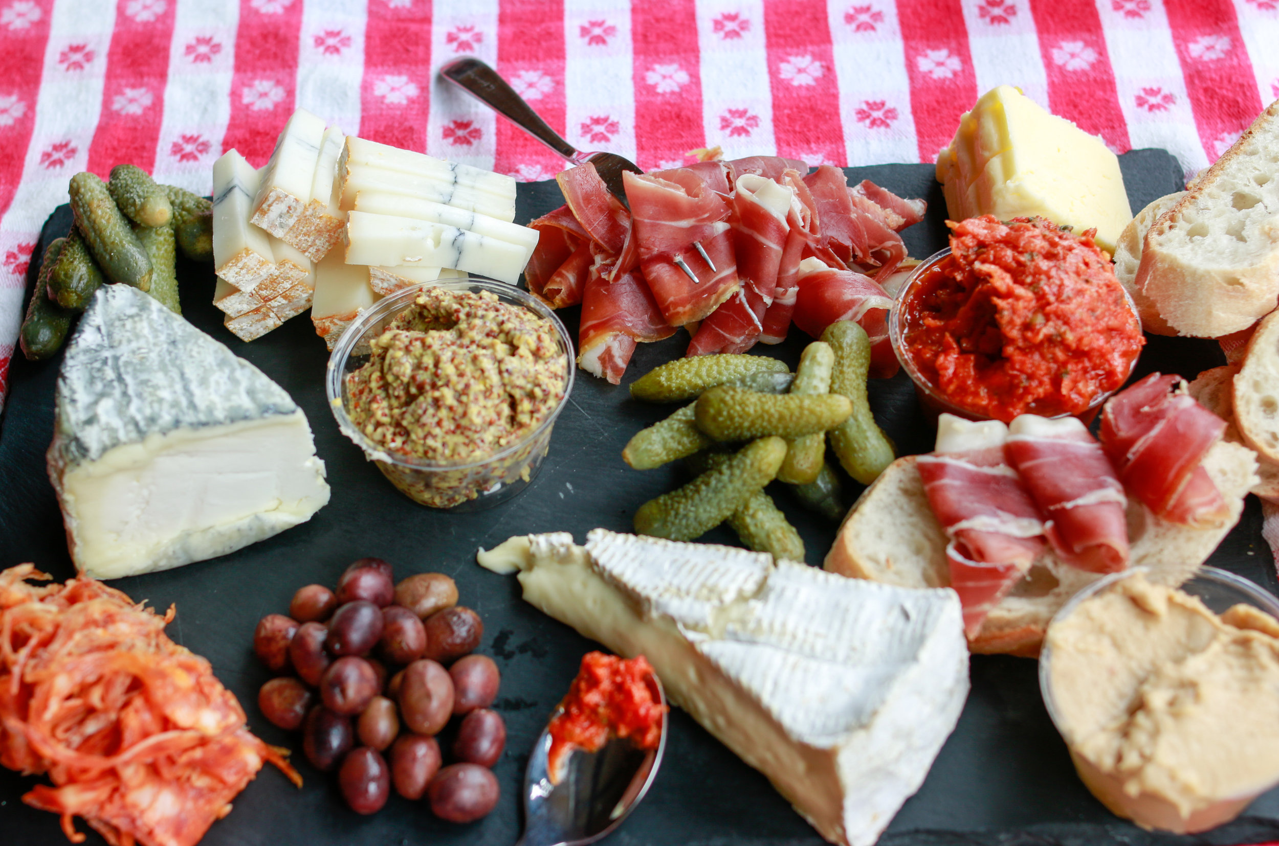 bastille day picnic with pastoral