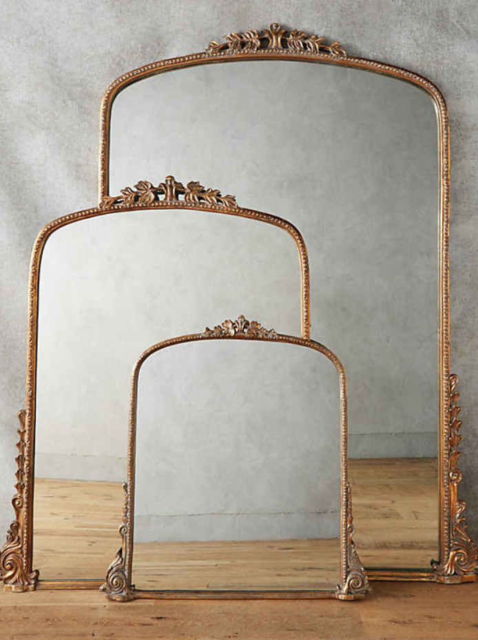 gleaming primrose anthropologie mirror