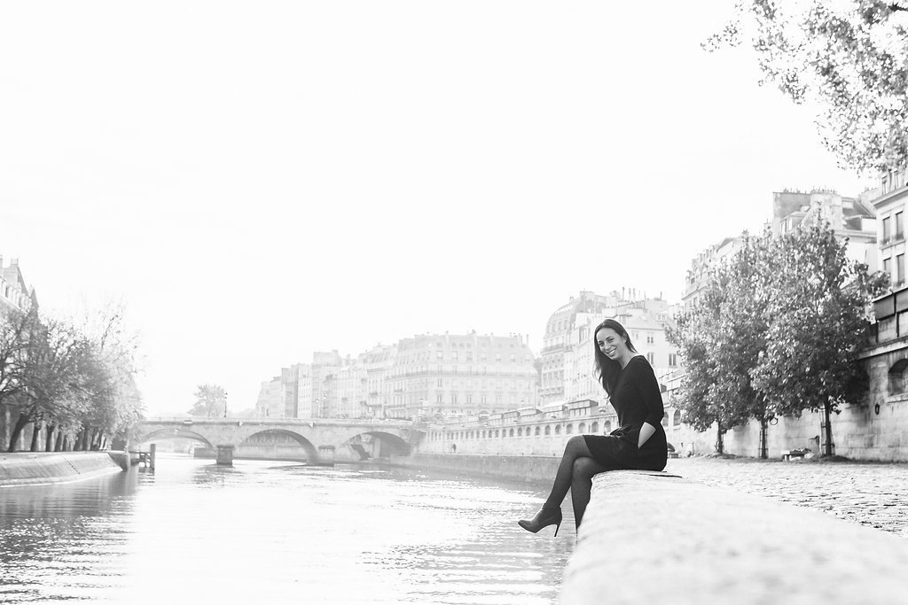 rebecca plotnick paris in black and white by iheartparisfr