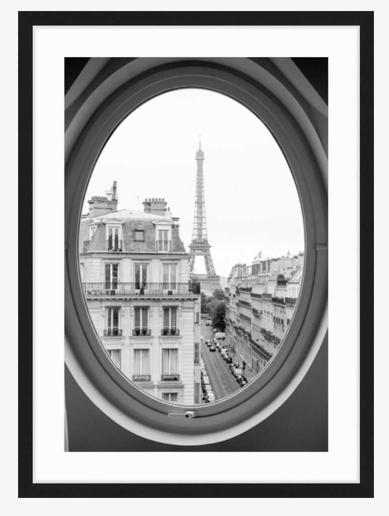 Paris Gallery Wall  - Inspiration