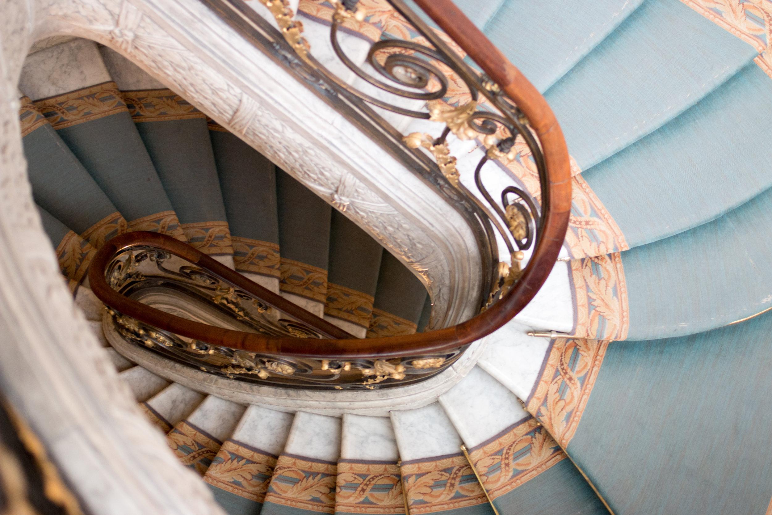 jacquemart andre musuem paris staircase