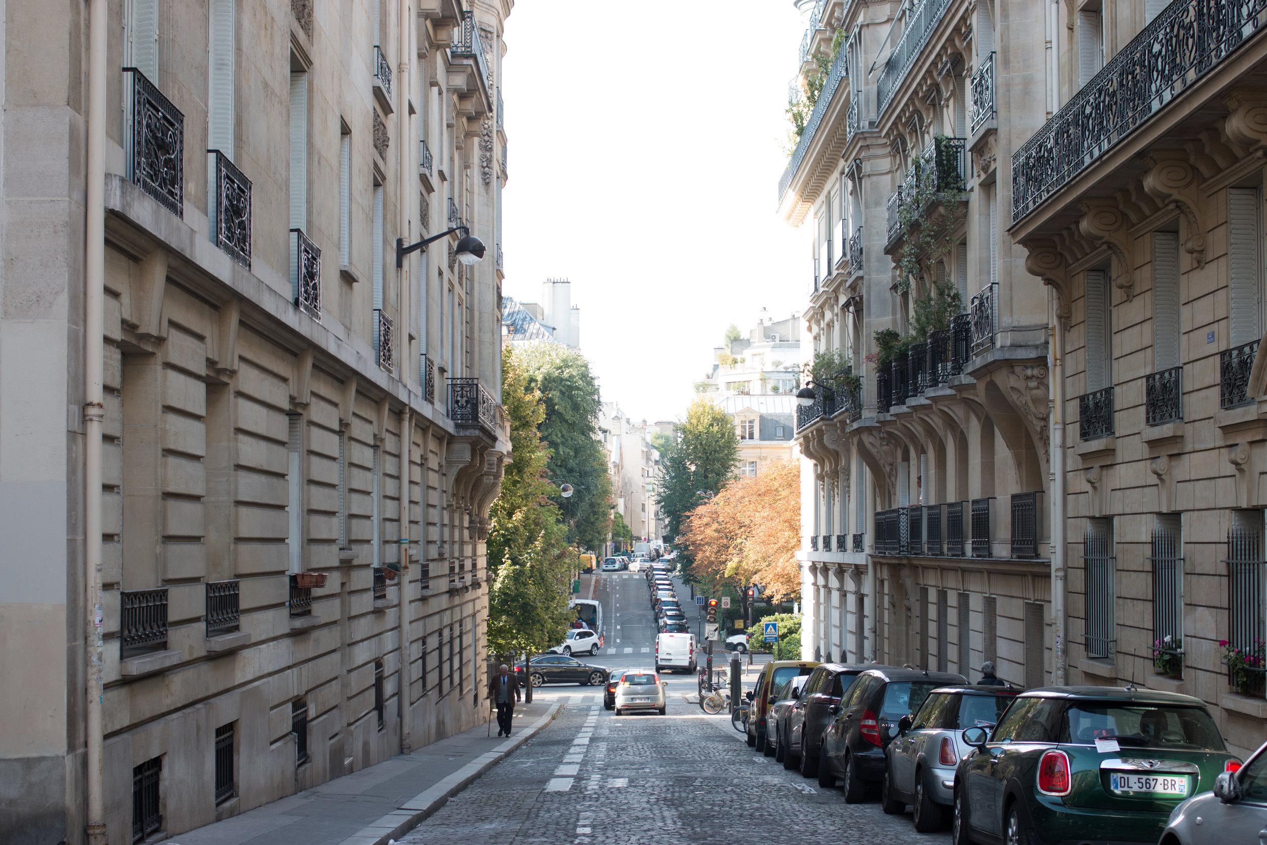 paris 16th arrondissement street view