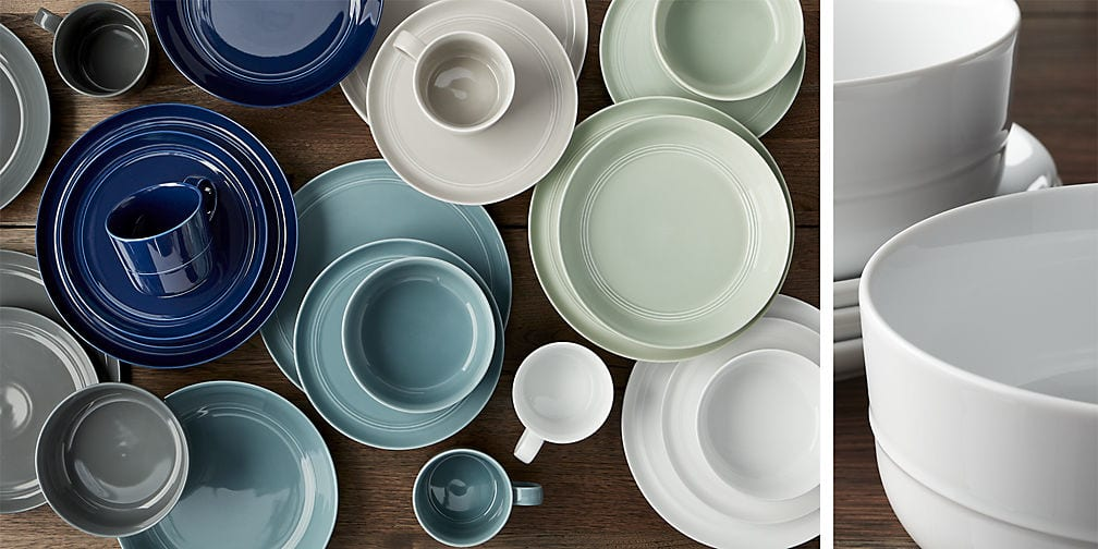 crate and barrel hue dishes