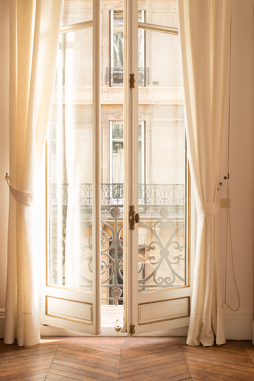 paris apartment window