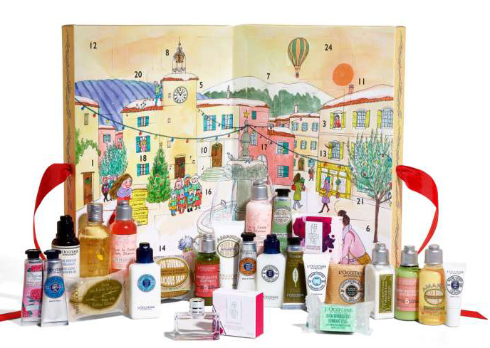 loccitaine advent calendar