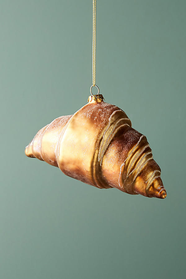 croissant ornament anthropologie
