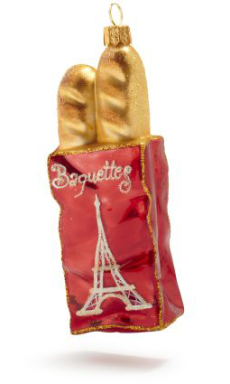 baguettes ornament sur la table