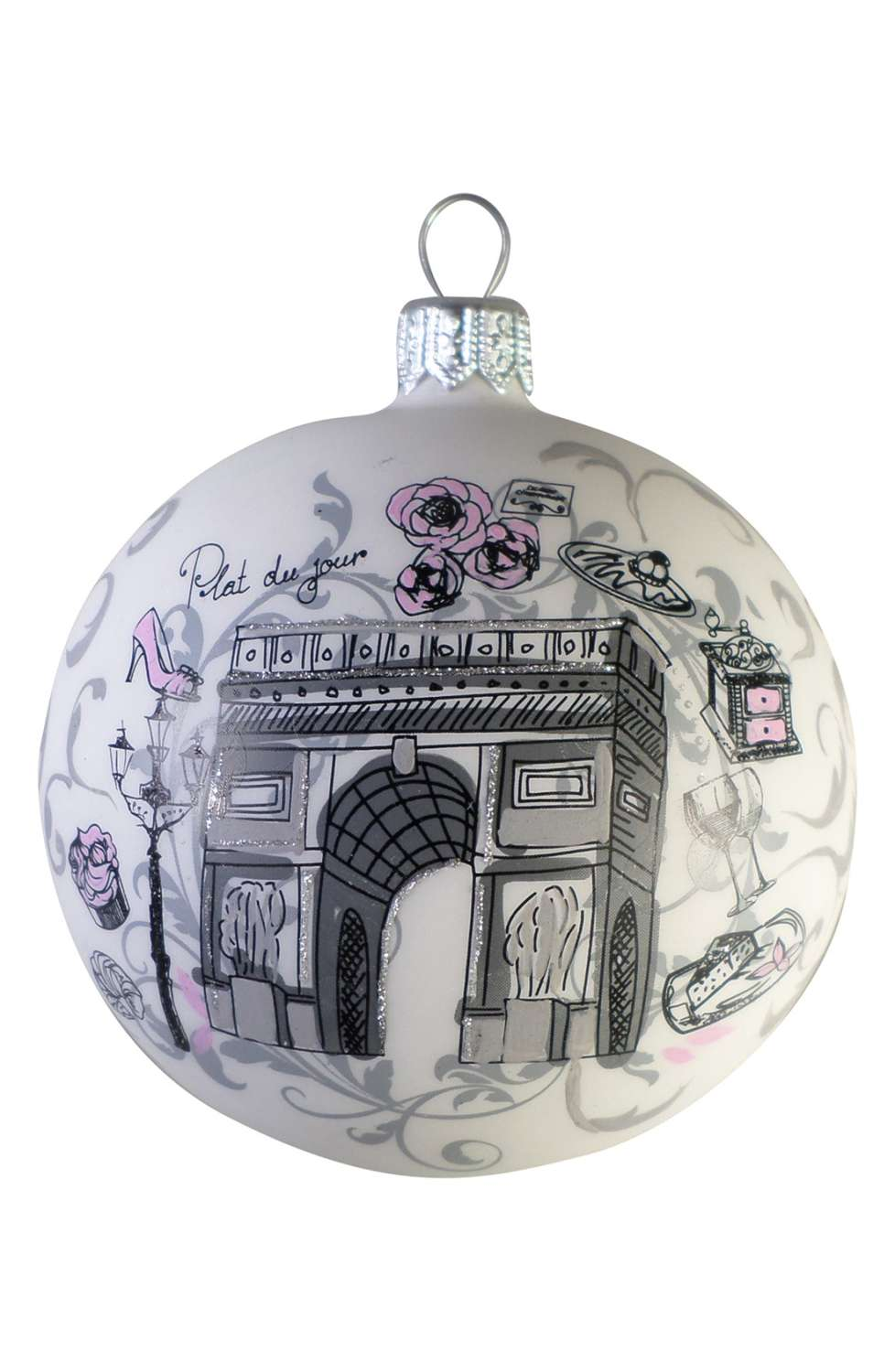 arc de triumph nordstrom ornament